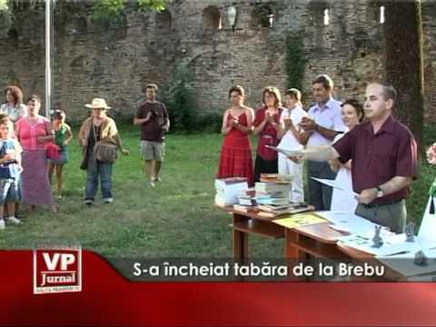 S-a încheiat tabăra de la Brebu