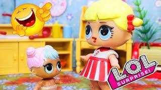 Смешные Мультики #16 Куклы ЛОЛ-Игрушки с Лалалупси Вероника