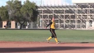 Lani Redmond AZ Killer Bees Corona del Sol Class of 2012 Fielding Video