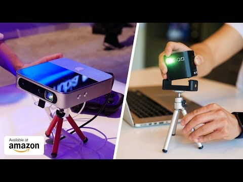 7 Amazing Smart Projectors ▶ World's Most Powerful 1080p Projector Gadgets That Are On Another Level