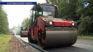 «Новгородавтодор» провел пресс-тур по ремонту областных дорог