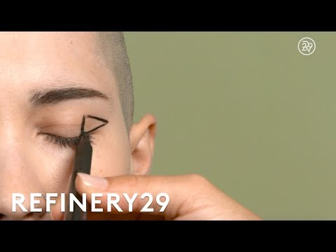 Triangle Liner Is The New Cat-Eye Tutorial | Short Cuts | Refinery29