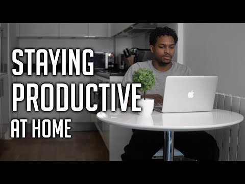 Working in quarantine? Do this - Productivity tips