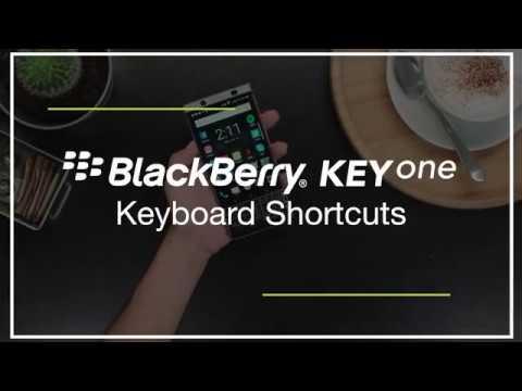 BlackBerry mostra i tasti di scelta rapida del Keyone in un video ufficiale