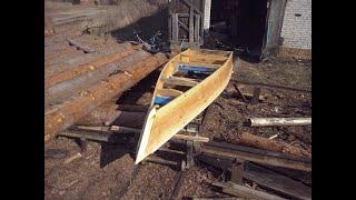 Чертёж деревянной лодки