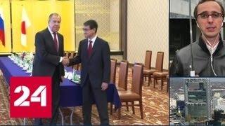 Японский премьер Синдзо Абэ в мае прилетит в Россию и встретится с Владимиром Путиным - Россия 24