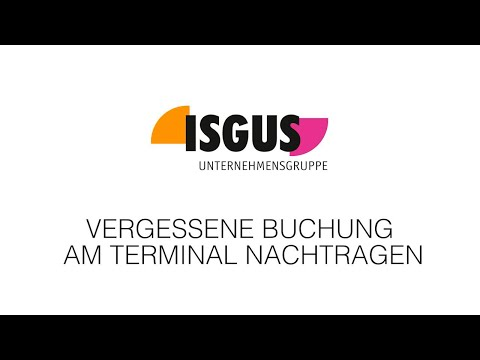 ISGUS Terminal IT 8210