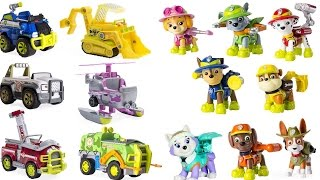 Best Preschool Learning Colors Video  - Paw Patrol Match Jungle Vehicles