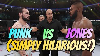 CAN YOU BEAT JON JONES ON LEGENDARY WITH CM PUNK? LOL (SUBSCRIBER REQUEST!!)