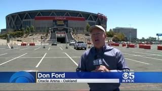 Warriors Fan Sneaks Into Game 7 With Fake Press Pass