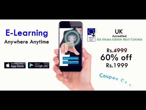 Six Sigma Green Belt Course with ASCB(UK) Accreditation ...