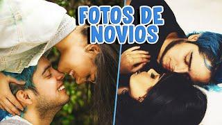 IMITANDO FOTOS DE NOVIOS con mi EX NOVIO YOLO ¡Este video es muy romántico!