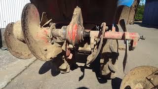 ヤンマーYA70、耕運爪から、プラウに交換❗