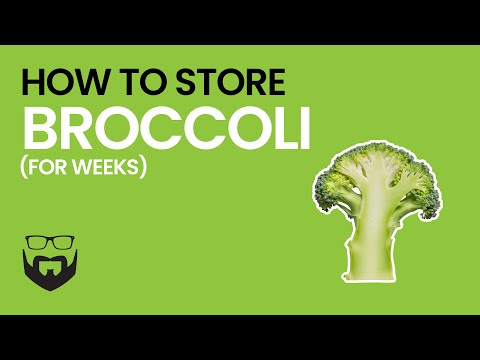 (2) How to Store Broccoli for Weeks - YouTube - YouTube