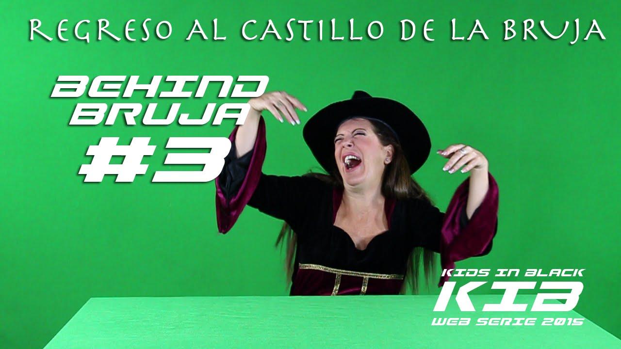Regreso al Castillo de la Bruja - Kids In Black 2015 - Detrás de las cámaras - Bruja Maligna #3