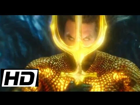 KING OF THE SEA - LIFTING UP THE TRIDENT   AQUAMAN(2018)
