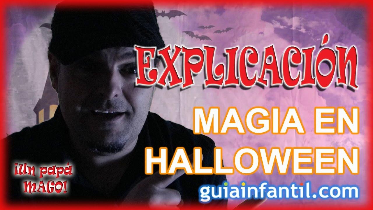 Truco de Magia Halloween EXPLICACIÓN | GUÍA INFANTIL | El misterio del hotel embrujado