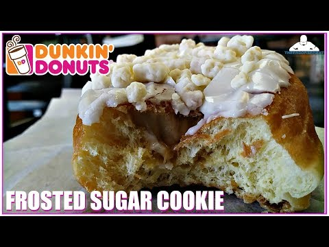 DUNKIN' DONUTS® FROSTED SUGAR COOKIE DONUT REVIEW