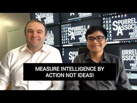 Edmonton Business Coach | Measure Intelligence by Action Not Ideas