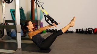 TRX Pilates Inspired Core Workout - for Rock Hard Abs by shortcircuits with Marsha