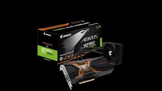 AORUS GTX 1080 Ti Waterforce Xtreme Edition 11G Unboxing & Review & Benchmark