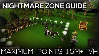 OSRS | Nightmare Zone - Maximum Points 1.5M+ P/H