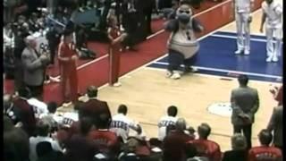 Philadelphia 76ers public address announcer Dave Zinkoff