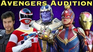 The AVENGERS Audition - feat. CAPTAIN MARVEL, IRON MAN, THOR, and THANOS [FAN FILM]