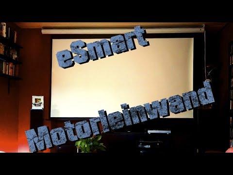 eSmart Germany MIMOTO | Motorleinwand  - Review meiner Leinwand!