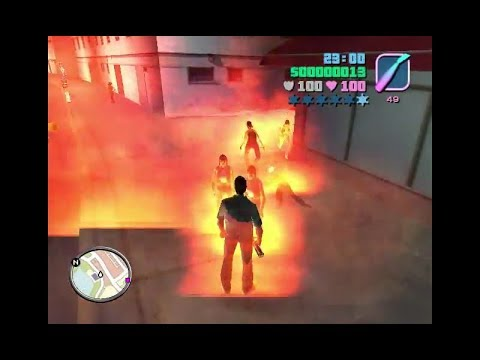 Amazing Gta Vice City All Wapen 6 Star And All Cheat Code