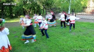 Отчётный концерт фольклорного отделения (преподаватель - О.С. Капусняк) 15 мая 2019 года