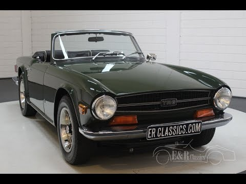 Video of Classic '69 Triumph TR6 Offered by E & R Classics - PWOE