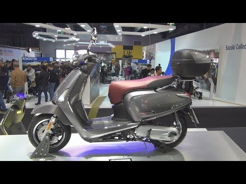 Kymco New Like 125 Xperience (2019) Exterior and Interior