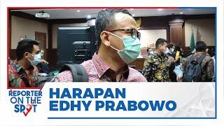 Curahan Hati Eks Menteri Kelautan dan Perikanan Edhy Prabowo, Minta Vonis Bebas & Ungkap Kondisi KKP