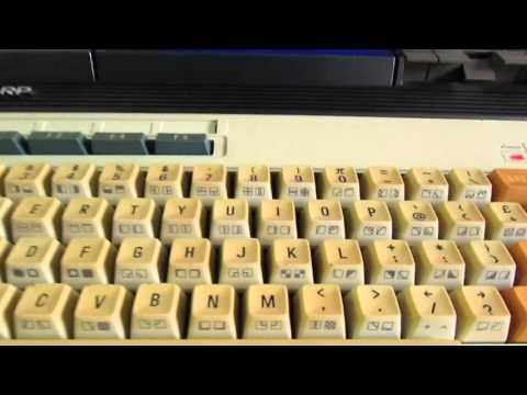SHARP MZ-700 - introduction and demo program