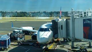 Delta Connection EMB-175 Portland (PDX) - Los Angeles (LAX) Flight Experience
