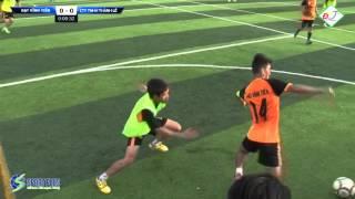"""Trận Chung kết """"Giải bóng đá sân 7 Cup Đạt Vĩnh Tiến lần I - 2015"""" tại sân bóng Sport Plus"""
