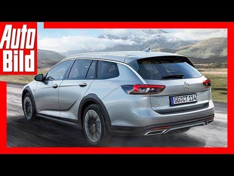 Opel Insignia Country Tourer (2017) Fahrbericht/Erklärung/Details