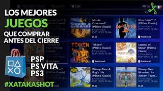 PS3 y PSP se DESPIDEN: sus tiendas cierran, pero antes TIENES QUE JUGAR ESTO
