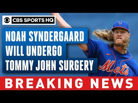 , title : 'Mets' Noah Syndergaard will undergo Tommy John surgery after tearing UCL | CBS Sports HQ'