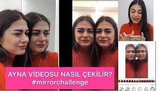 Ayna geçişi nasıl yapılır? #mirrorchallenge #tutorial #tiktok
