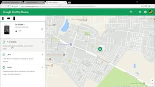 """How to find Missing Android phone using gmail """" Find My Phone"""""""