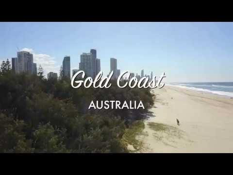 Disfruta Estas Vistas De La Costa Dorada Australiana en 4K