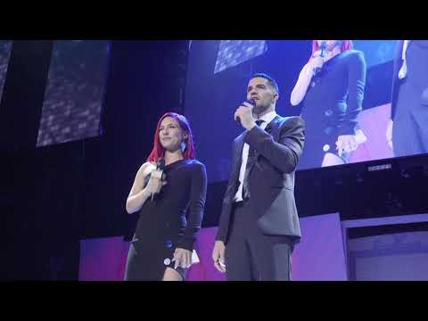 Sharna Burgess & Tony Bellissimo - Kick Off the 2018 Industry Dance Awards