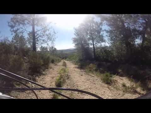 Bajada al pueblo de Gualba - Parque Natural del Montseny