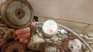 Остановка счетчика воды Valtec VLF поисковым магнитом на 400 кг.