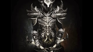 TES5 Skyrim - Крафтим Королевскую даэдрическую броню