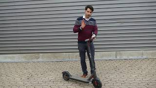 E-Scooter MF365, technische Details, Testfahrt, Amazon Bewertungen,  Elektroroller