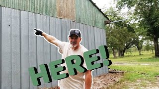 How to Build a LEAN TO on the Side of existing Pole Barn