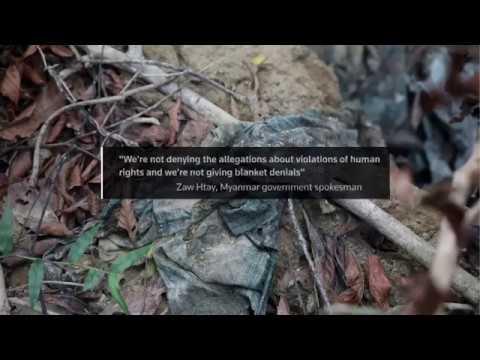মিয়ানমারে গণকবরের তথ্যপ্রমাণসহ রয়টার্সের প্রতিবেদন। The killings in Inn Din : Reuters report.